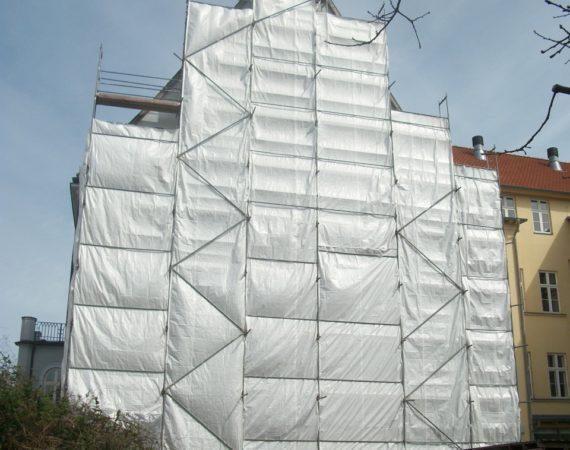 Einhausungen, Gerüstplane, Gerüstschutznetze