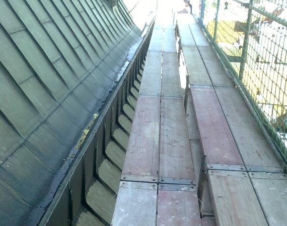 Dachdeckerfanggerüste