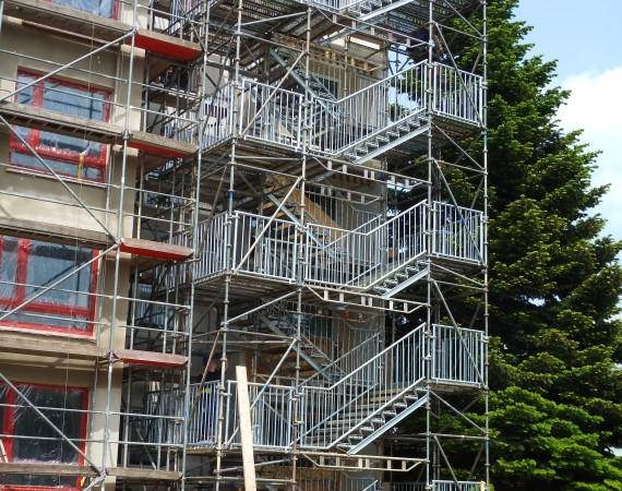 Öffentliche, baurechtlich notwendige Treppen