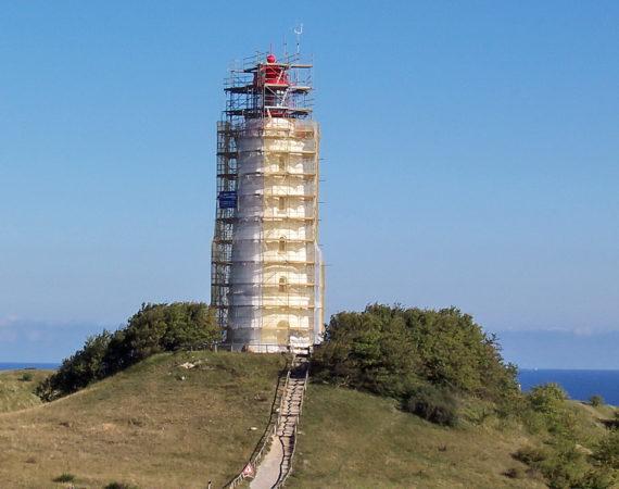 Hiddensee Leuchtturm Dornbusch 2005